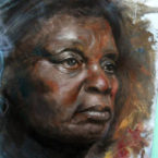 11 - Mãe Negra - Óleo sobre tela