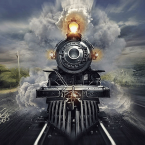 11---The-Train---Pintura-Digital
