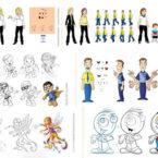 13 - Mascotes e animações - Diversos - Arte Digital