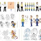 13---Mascotes-e-animações---Diversos---Arte-Digital