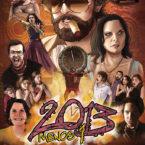 13 - Pôster filme 2013 menos 1 - Projeto gráfico, Logo e Ilustração - Gogo Filmes - Pintura Digital