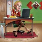 16 - Secretária 01 - Revista Meio & Mensagem - PinturaDigital