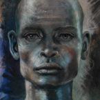 17 - Homem Negro - Óleo sobre tela