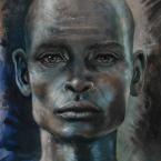 17---Homem-Negro---Óleo-sobre-tela