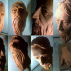 21 - Barbudo - Escultura