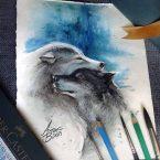 24---Amor---Lápis-Aquarelável