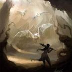 24 - Bats Pintura Digital